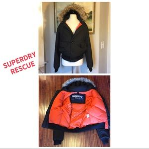 Superdry Rescue Down Feather Bomber Jacket